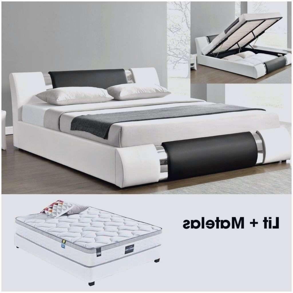 Tete De Lit Avec Chevet Intégré Ikea Magnifique Lit Double soldes