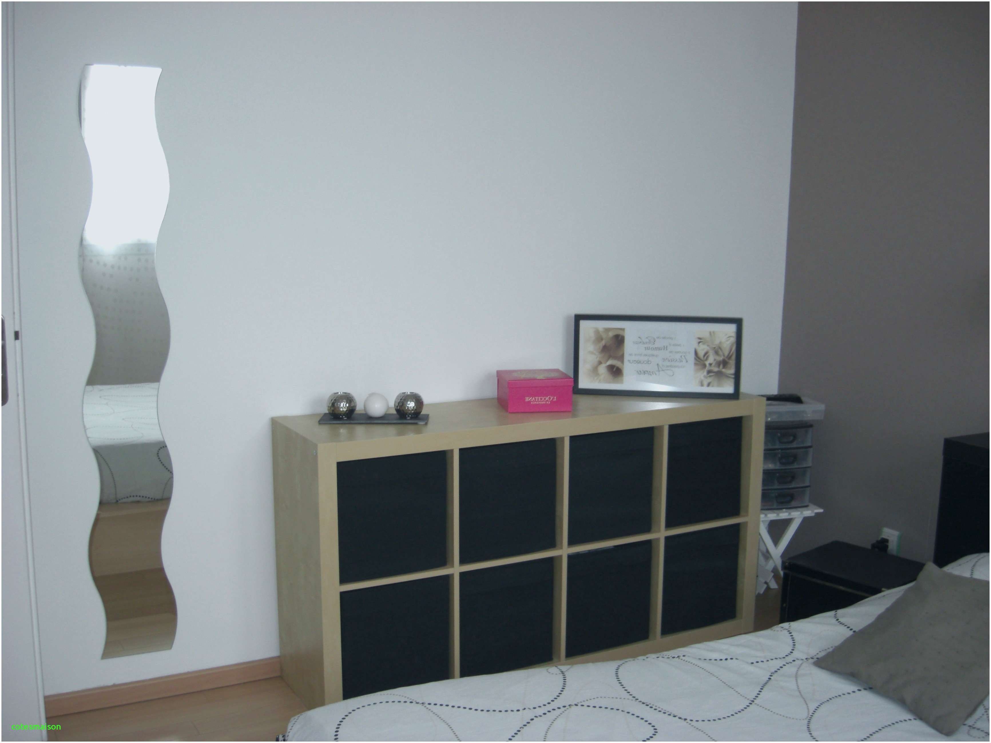 Tete De Lit Beige Nouveau Inspiré Chambre Decoration Taupe Blanc Beige Bois Diy Tete Lit