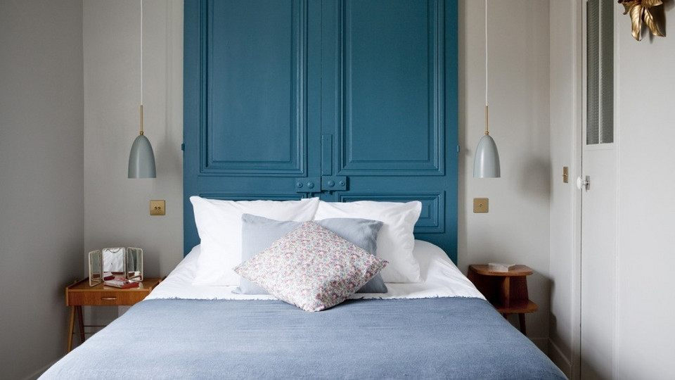 Tete De Lit Bleu Canard Bel 10 Idées Pour Une Tªte De Lit Déco Dans La Chambre M6 Deco