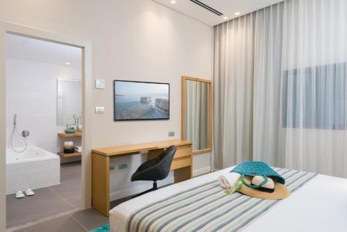 Tete De Lit Bord De Mer Douce ОтеРь Oasis Dead Sea Hotel 4 Эйн Бокек Бронирование отзывы фото
