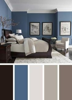 We assist you select a great bedroom color design so you can make a