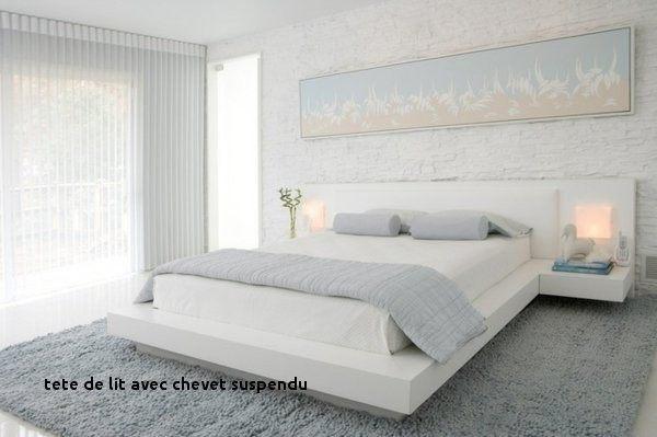 Tete De Lit Chevet Nouveau 44 Des Idées Chevet Suspendu Design Meubles