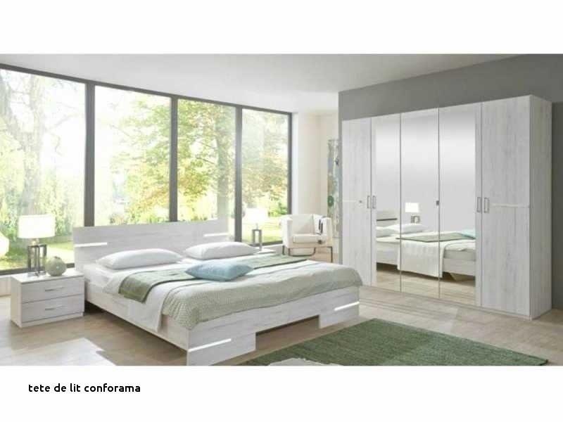 Conforama Tete De Lit 160 Frais Galerie Tete Lit Rangement Bois Avec