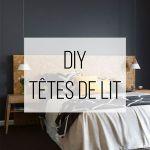 Tete De Lit Diy Fraîche Tete De Lit Diy Tete De Lit Bois Design Luxe Chambre Decoration