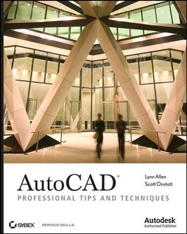 Tete De Lit Dorée Bel Autocad Professional Tips and Techniques Livre De Lynn Allen