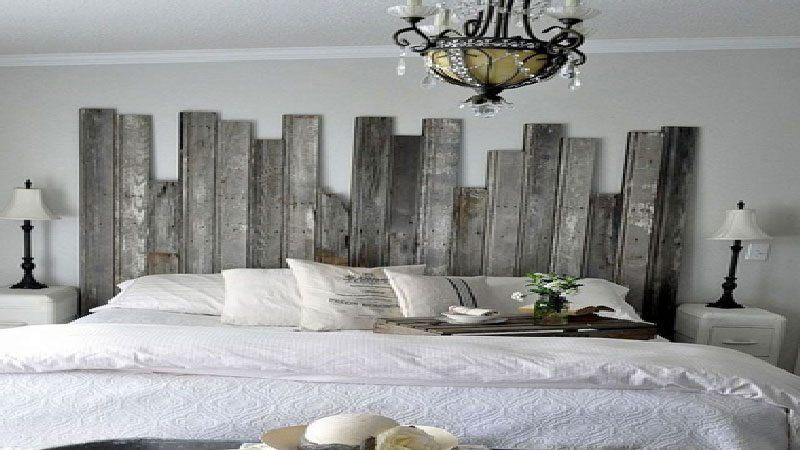 Tete De Lit En Planche De Bois Agréable Fabrication Tete De Lit En Bois Deco Chambre Palette Affordable