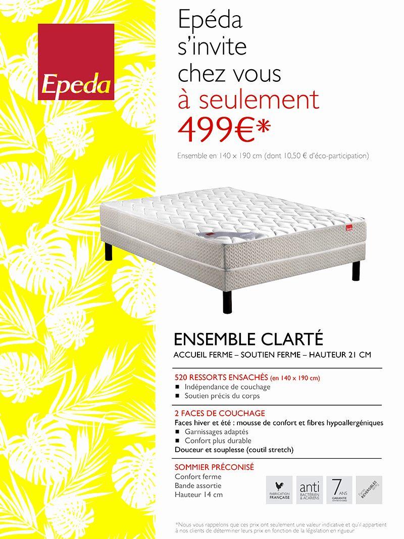 Tete De Lit Epeda Le Luxe sommier Epeda 140—190 élégant 30 Meilleur De Tete De Lit Epeda