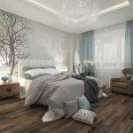 Tete De Lit Gris Clair Belle Chambre  Coucher Adulte – 127 Idées De Designs Modernes