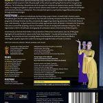 Tete De Lit Menzzo Agréable Tchaikovsky Iolanta Stravinsky Perséphone Blu Ray Import Italien