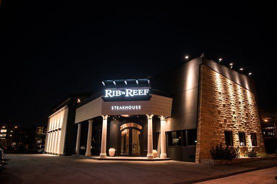 Tete De Lit Menzzo Impressionnant Rib N Reef Steakhouse & Cigar Lounge МонреаРь фото ресторана