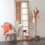 Tete De Lit Miroir Élégant Miroir Fenªtre En Bois H 198 Cm Chauvigny