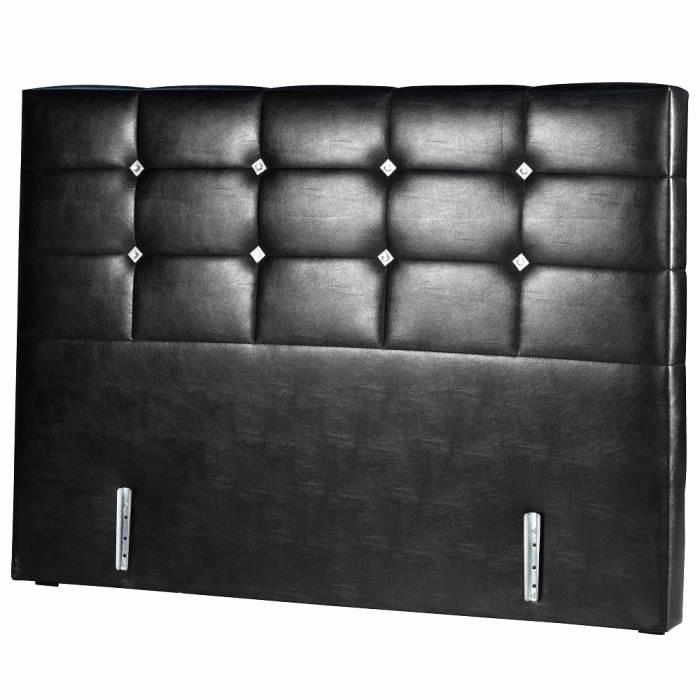 Tete De Lit Noir 160 Impressionnant Tete De Lit Noir 160 Beau Tete De Lit Cuir Noir Maison Design Wiblia