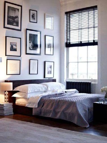 Tete De Lit Noir Belle Déco Chambre Adulte Blanche Et Noir Bedroom