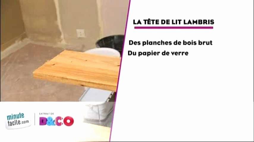 Tete De Lit Planche De Bois De Luxe Tete De Lit En Lambris Unique Tete De Lit En Bois Massif Génial Tete