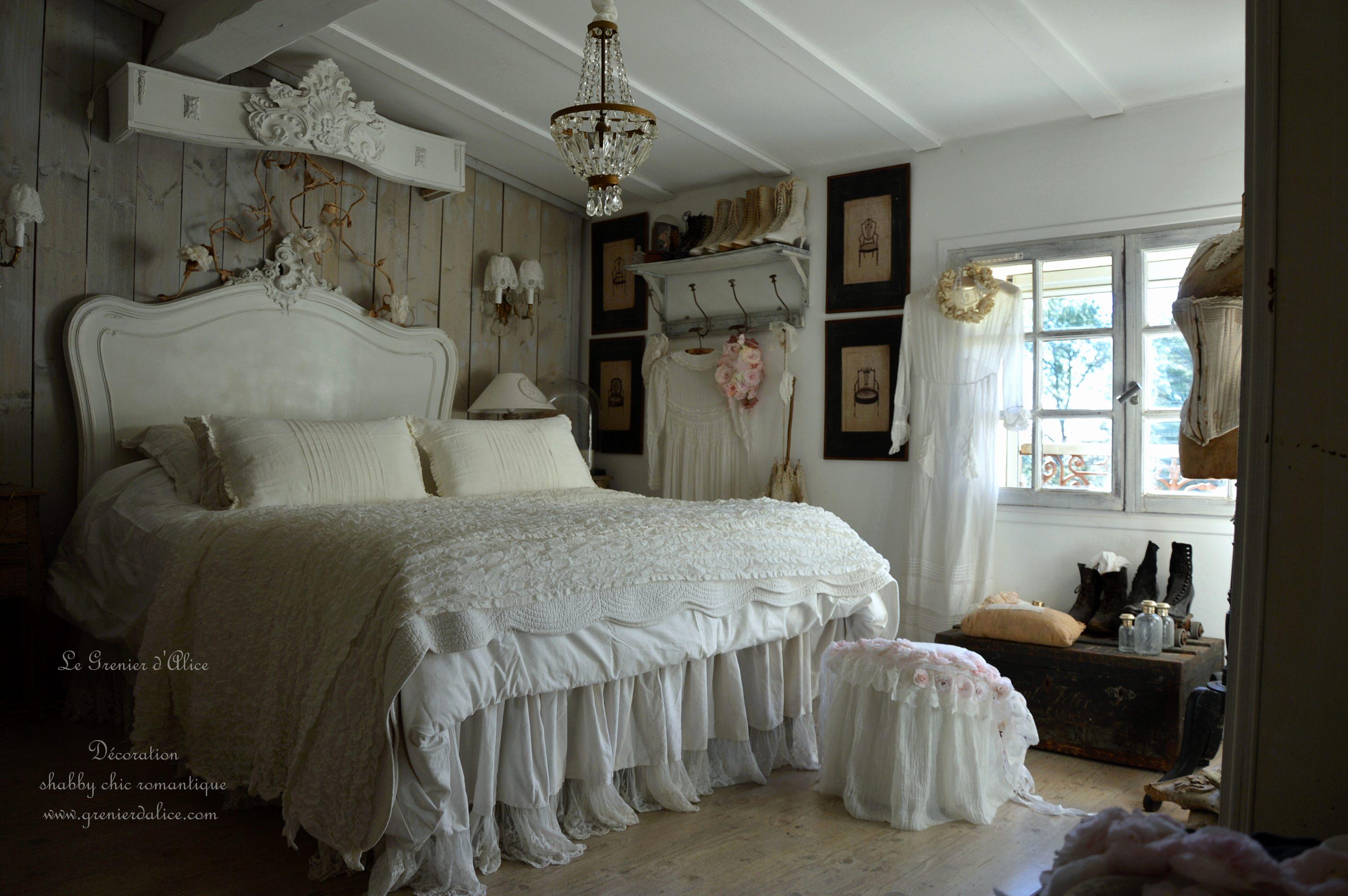 Tete De Lit Romantique Magnifique Chambre Romantique Blanche Beau Chambre Romantique Blanche Beau