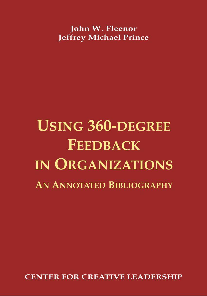 Tour De Lit 360 Impressionnant Pdf Using 360 Degree Feedback In organizations