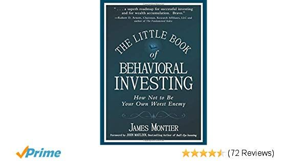 Tour De Lit 360 Magnifique The Little Book Of Behavioral Investing How Not To Be Your Own
