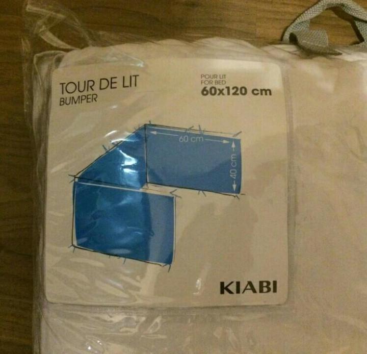 Tour De Lit 60×120 Douce Бортики новые Kiabi – купить в Москве цена 1 000 руб продано 7