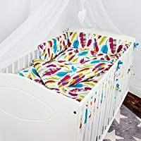 Amazon tour de lit bébé 70x140 Linge de lit Matelas et
