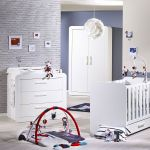 Tour De Lit Babyfan Le Luxe astride White Chest Of 3 Drawersm