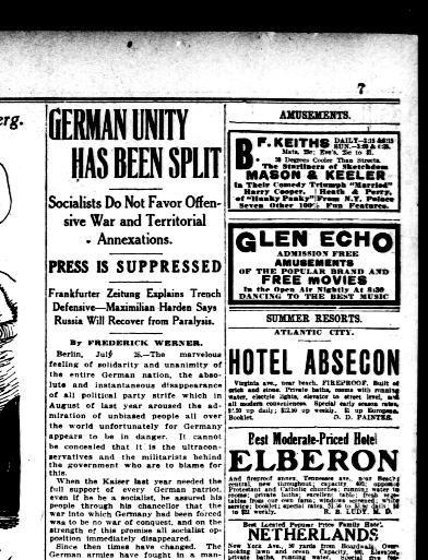 Tour De Lit Babyfan Nouveau the Washington Herald Washington D C 1906 1939 July 26 1915