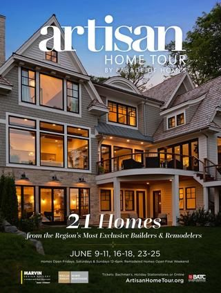 Artisan Home Tour by Parade of Homes 2017 Guidebook by BATC Housing