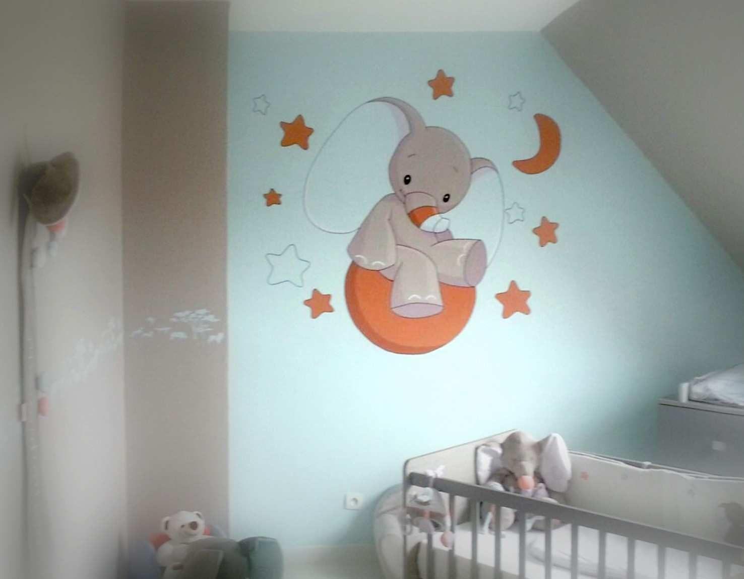 Tour De Lit Bébé Mixte Inspirant Tableau Peinture Pour Chambre Bébé Lovely Papier Peint Chambre Bébé