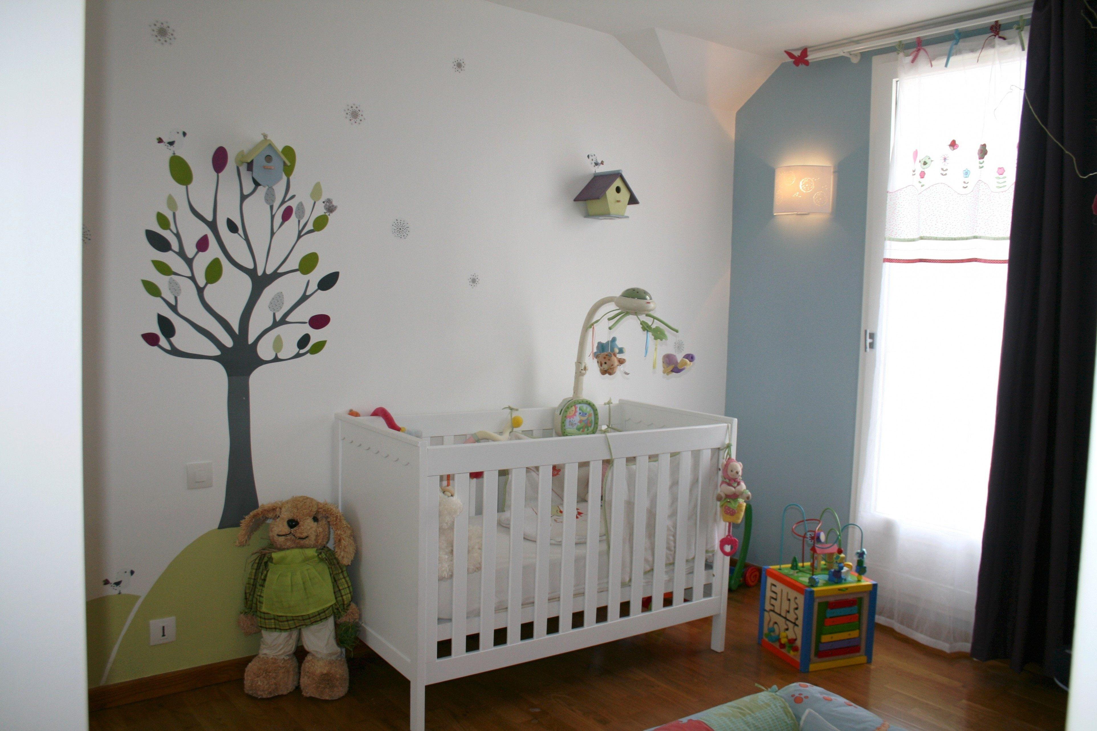 Tour De Lit Bébé Nuage Magnifique 44 Douce Peinture Chambre Bébé Fille Des S