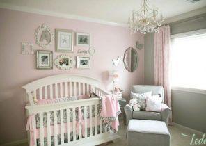 Pour chambre bébé fille Bébé doudou univers