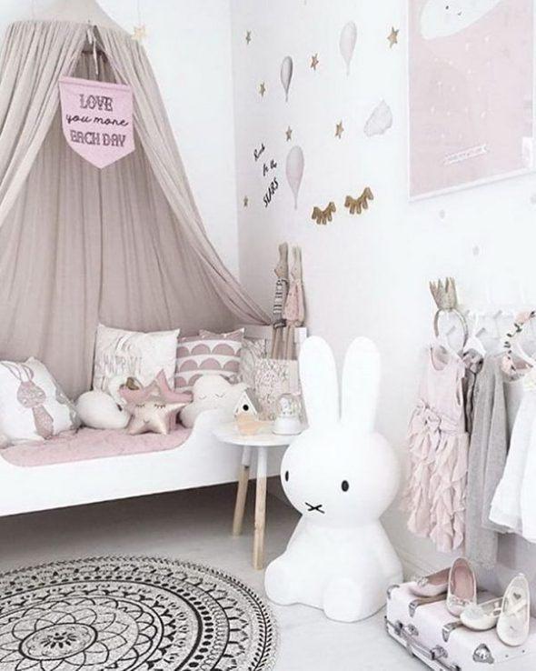 Tour De Lit Bébé Rose De Luxe O Deco Chambre Bebe