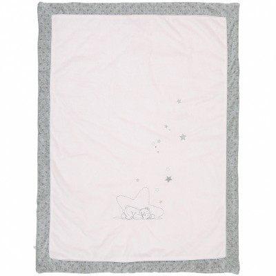 Tour De Lit Etoile Frais Couverture Poudre D étoiles Rose 75 X 100 Cm Noukie S