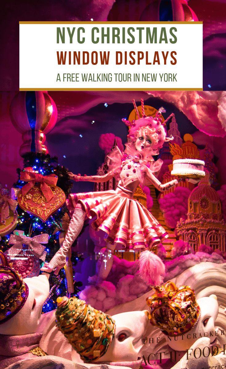 Tour De Lit Fille Inspiré Nyc Christmas Windows A Free Walking tour Self Guided