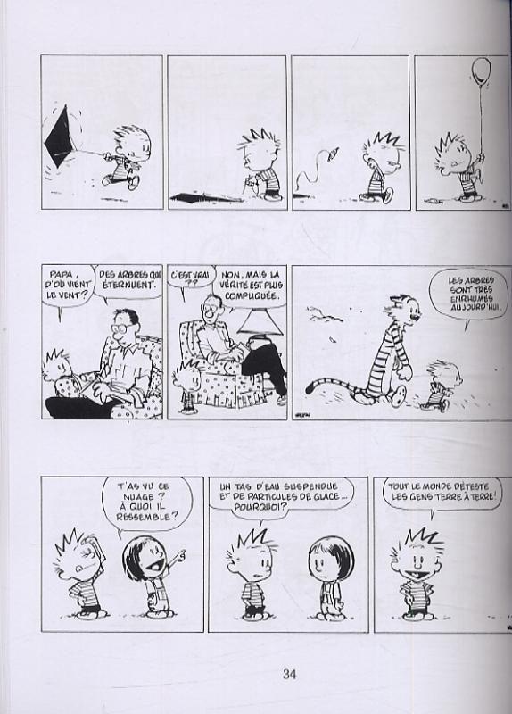 Tour De Lit forme Nuage Agréable Serie Calvin Et Hobbes [super Héros Une Librairie Du Réseau Canal Bd]