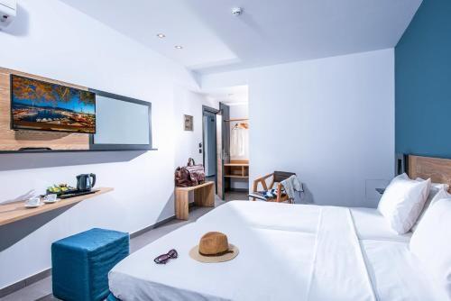 Tour De Lit forme Nuage Joli ОтеРь Infinity Blue Boutique Hotel & Spa Adults Ly 4