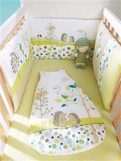 Tour de lit bébé brodé th¨me Pic nic vertbaudet enfant