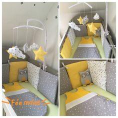 Tour De Lit Gris Et Rose Luxe Лучших изображений доски Бортики в кроватку 10