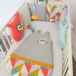 Tour De Lit Hibou Luxe Decoration Chambre Bebe theme Hibou