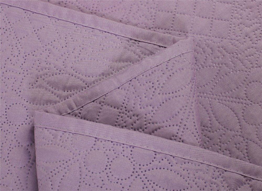 Tour De Lit Jaune Et Gris Inspiré ⑧cloris Microfibre Tissu Literie Couverture 230 250 Mode De Luxe