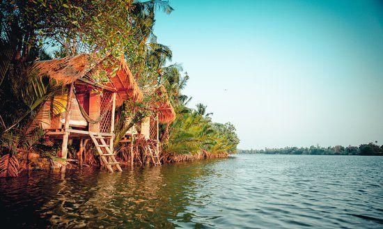 Tour De Lit Jungle Impressionnant Nestled In A Jungle Paradise Picture Of Eden Eco Village Kampot