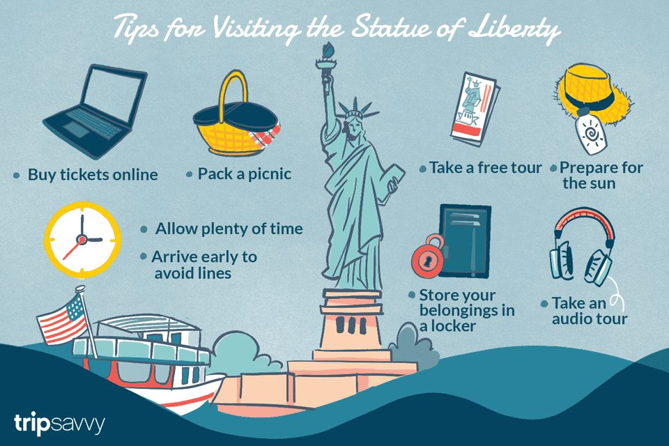Tour De Lit Liberty Magnifique 10 Tips for Visiting the Statue Of Liberty