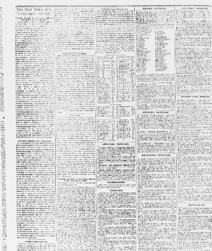 Tour De Lit Nattou Agréable the Sun New York [n Y ] 1833 1916 June 12 1866 Image 2
