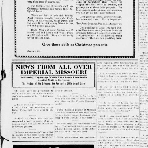 Tour De Lit Nattou Bel the St Joseph Observer St Joseph Mo 1906 1932 December 11