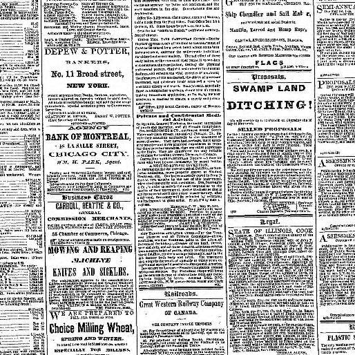 Tour De Lit Nattou Génial Chicago Tribune Chicago Ill 1864 1872 April 24 1866 Image 3
