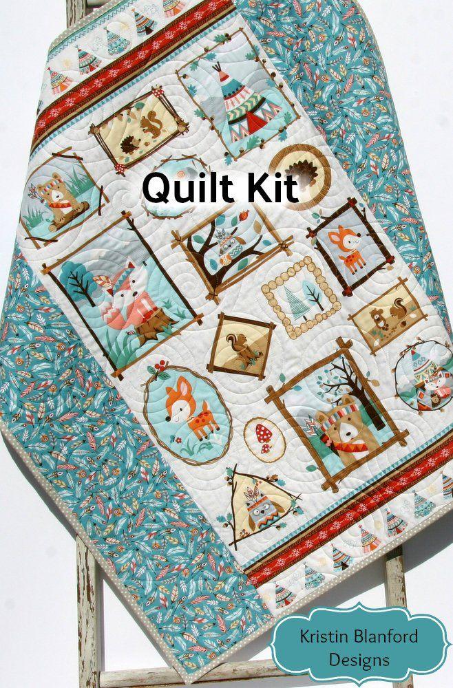 Quilt Kit animaux de la gar§ons forªt forªt gar§ons la ou filles