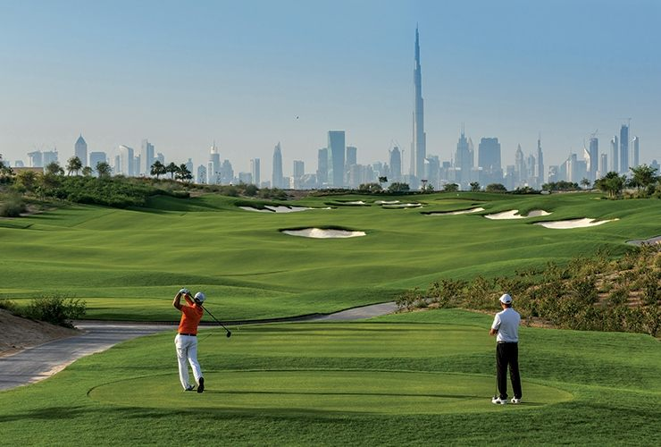 Tour De Lit Numero 74 Belle First Look Dubai Hills Golf Club is An Instant Icon Golf Digest