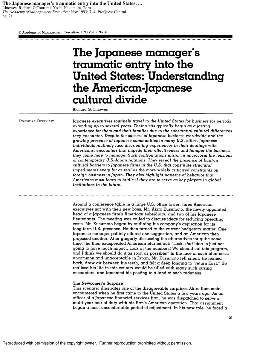 PDF An Experiential Approach to Cross Cultural Learning A Review