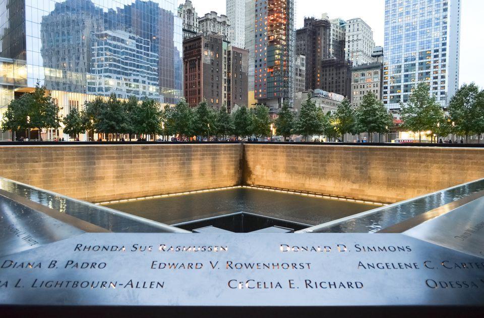 Tour De Lit original Bel Visiting Ground Zero at the World Trade Center Site