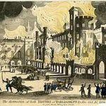 Tour De Lit Original Frais Burning Of Parliament