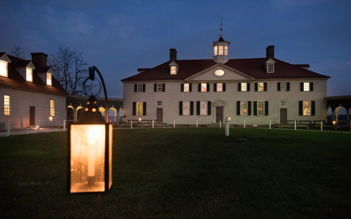 Tour De Lit Rose Pale Belle Mount Vernon by Candlelight · George Washington S Mount Vernon