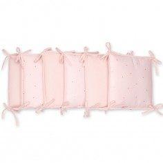 Tour de lit rose p¢le Koala pour lits 60 x 120 cm et 70 x